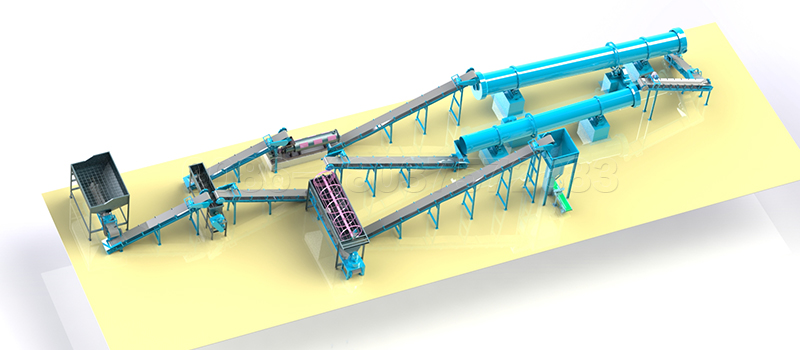 Commercial Fertilizer Production Line