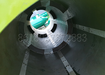 Drum Granulation Equipmet Inner Structure
