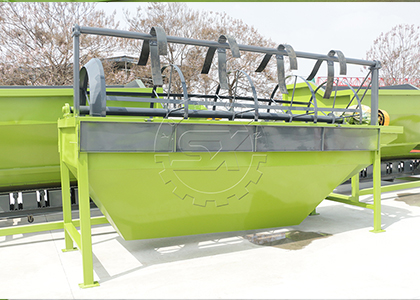 Fertilizer Screener for Quality Compost Production
