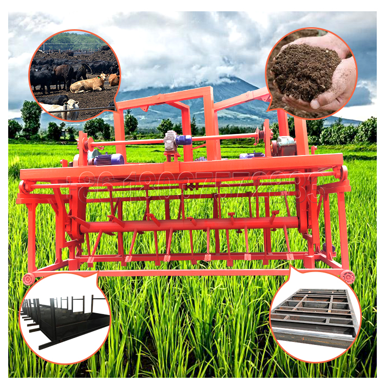 Groove Type Compost Turner for Small Scale Fertilizer Plant