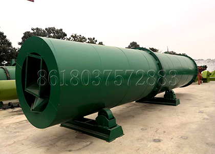Rotary Drum Dryer Used in Fertilizer Production Line