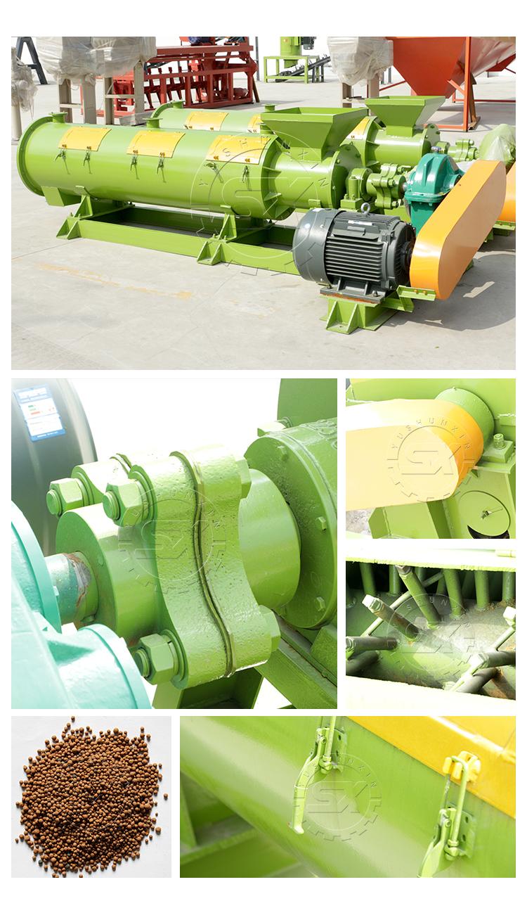 New Developed Fertilizer Granulator for Organic Fertilizer Production